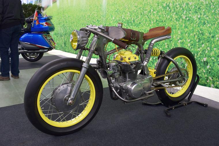 A Titan One alapja egy Honda CB360 lehetett, de erre már az anyja sem ismerne rá