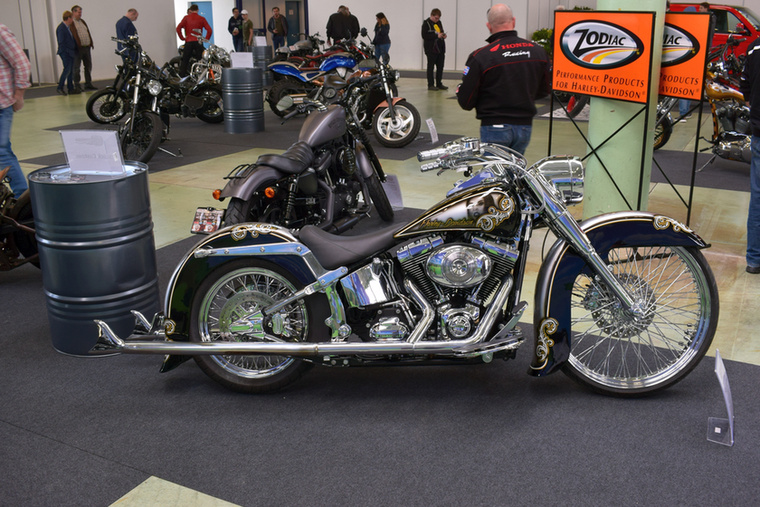 A Harley-Davidson Cholo 26 magyar munka, a Baggerbuilders építette