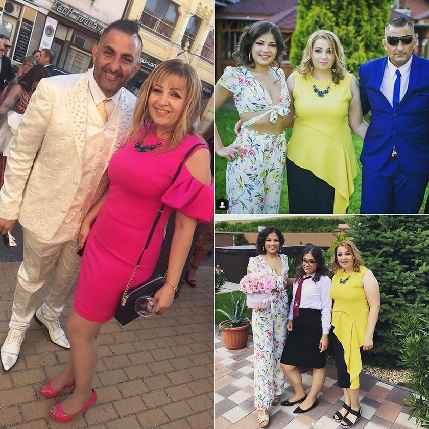 Gáspár Bea és Győzike idén májusban és tavaly júniusban Evelin 23. szülinapján, illetve Virág ballagásán.