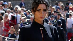 Van magyarázat arra, miért vágott fancsali arcot Victoria Beckham az év esküvőjén