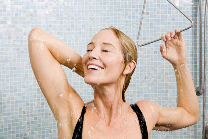 gomba zuhany
