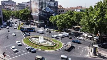 Sok autót kitiltanak Madrid központjából