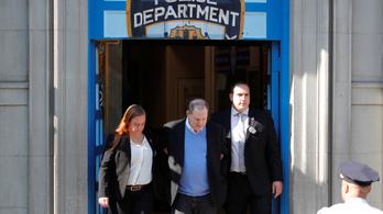 Letartóztatták Harvey Weinsteint