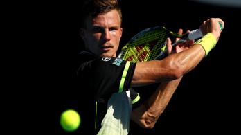 Fucsovics 36 éves teniszátkot törhet meg