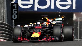 Ricciardo brutális köridővel nyerte a monacói időmérőt