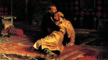 Egy részeg fémoszloppal verte szét a Rettegett Ivánt és fiát ábrázoló festményt