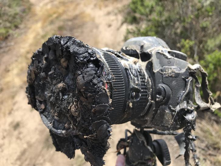 ingalls camera post fire