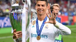 Cristiano Ronaldo: Nagyon jó volt a Real Madridban játszani