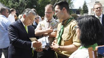 Orbán: A jég hátán is megélő cserkészekre van szükség