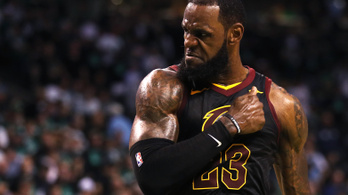 LeBront egy pillanatra sem cserélték le, újra NBA-döntős a Cavs