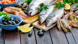 Egyél sok halat, jobb lesz tőle a szex!