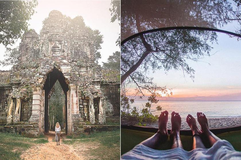 Angkor temploma és a Koh Rong-sziget