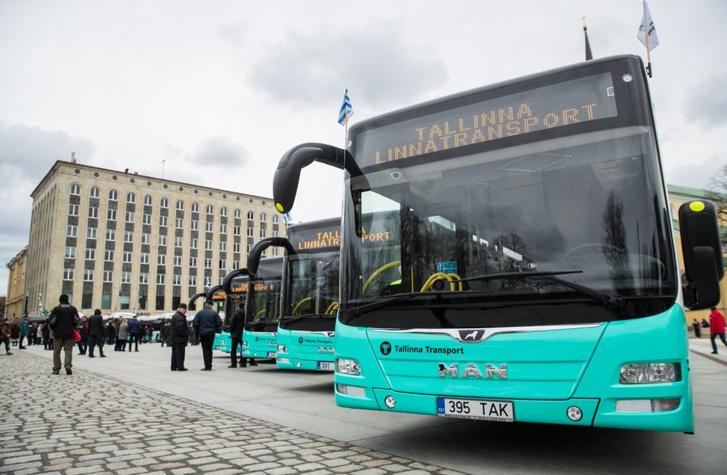 Az új tallinni Euro VI-os MAN Lion's Cityk átadása 2018 áprilisában
