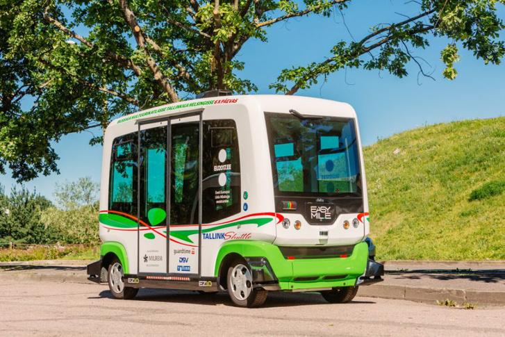 Az egykori KGST országok közül Tallinn az első, amely kipróbálhatta az önvezető minibuszt
