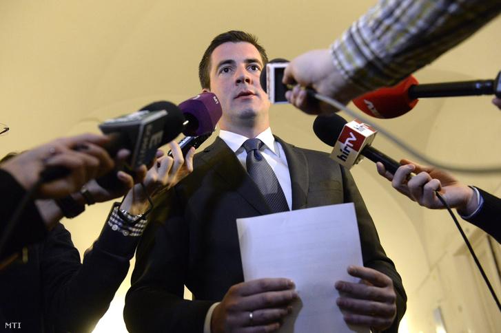 Kocsis Máté, a Fidesz frakcióvezetője