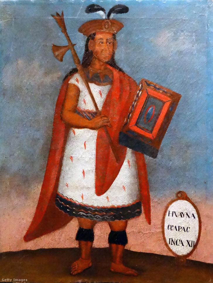 Huayna Capac (1464/1468-1524) inka uralkodó