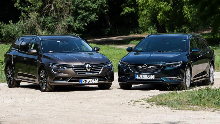 Szemre nem feltűnő, de az Opel lényegesen nagyobb