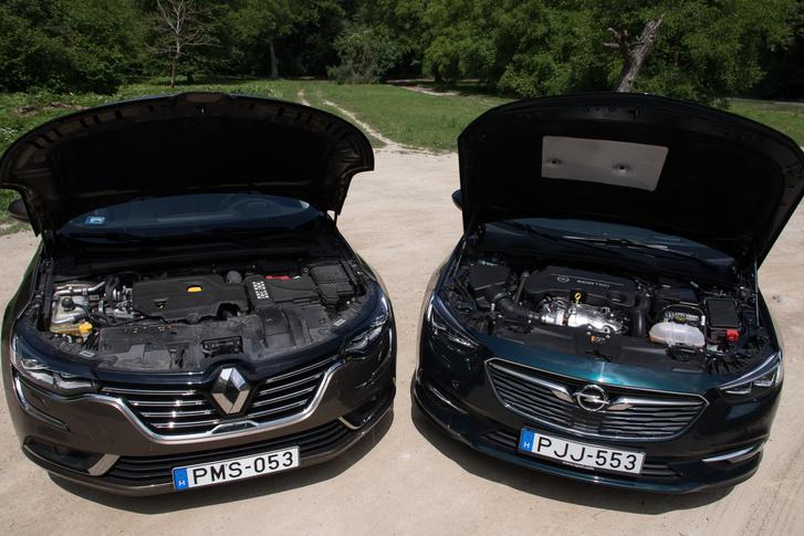 Opelből van kétliteres, 170 lóerős dízel, Talismanból csak 1,6-os, 110, 130 és 160 lóval