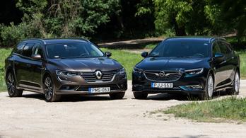 Opel Insignia Country Tourer 2.0d 170 a Renault Talisman Estate 1.6d ellen – 2018.