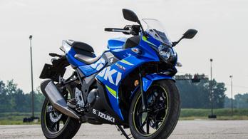 Teszt: Suzuki GSX250R – 2018.