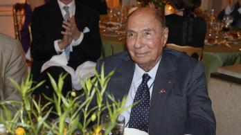 Elhunyt Serge Dassault francia  fegyvergyáros, a Le Figaro tulajdonosa