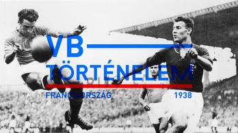 Az első magyar vébédöntő - Franciaország, 1938