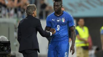 Balotellit 4 év után hívták vissza: gól