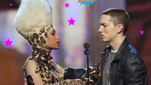 Eminem és Nicki Minaj nem járnak egymással, de szeretnének