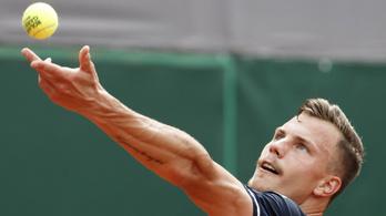 Fucsovics győzelemmel kezdett a Roland Garroson