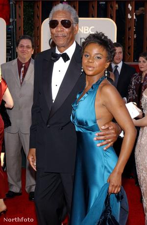 Morgan Freeman és E'Dena Hines