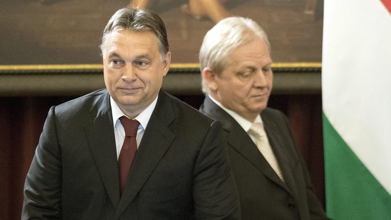 Orbán elment Tarlós szülinapi bulijára