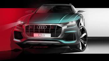 Agresszív lesz az Audi Q8