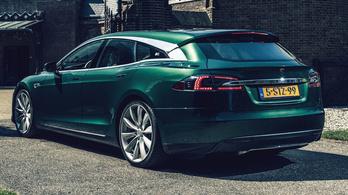 Igazán csinos a kombi Tesla