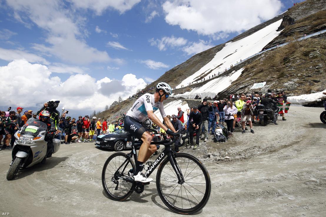 Froome a Giro 19. szakaszán