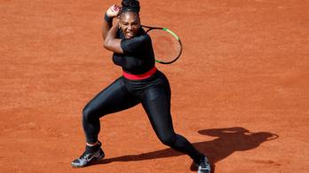 Serena Williams két év után nyert újra salakon