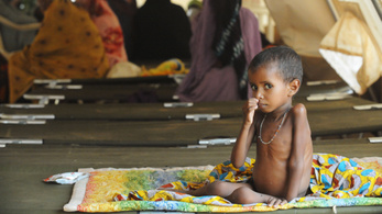 Több mint 850 ezer kisgyerek éhezik Maliban, harmaduk életveszélyben van
