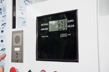 9,5 euró a hidrogéngáz kilója