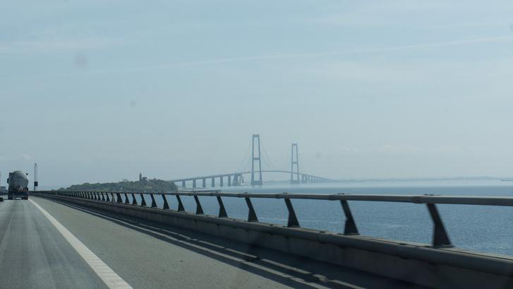 A 18 kilométeres Nagy-Balt híd. Áthaladásonként 50 percet spórol a közlekedőknek