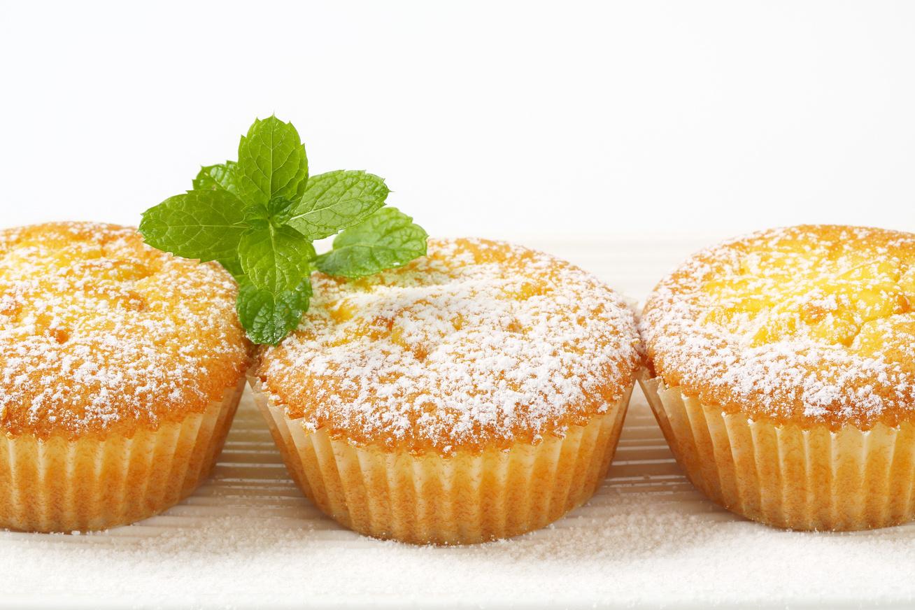 Félórás citromos muffin pudinggal töltve - Ettől a hozzávalótól még puhább lesz