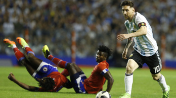 Messi megkezdte a vb-felkészülést: mesterhármas