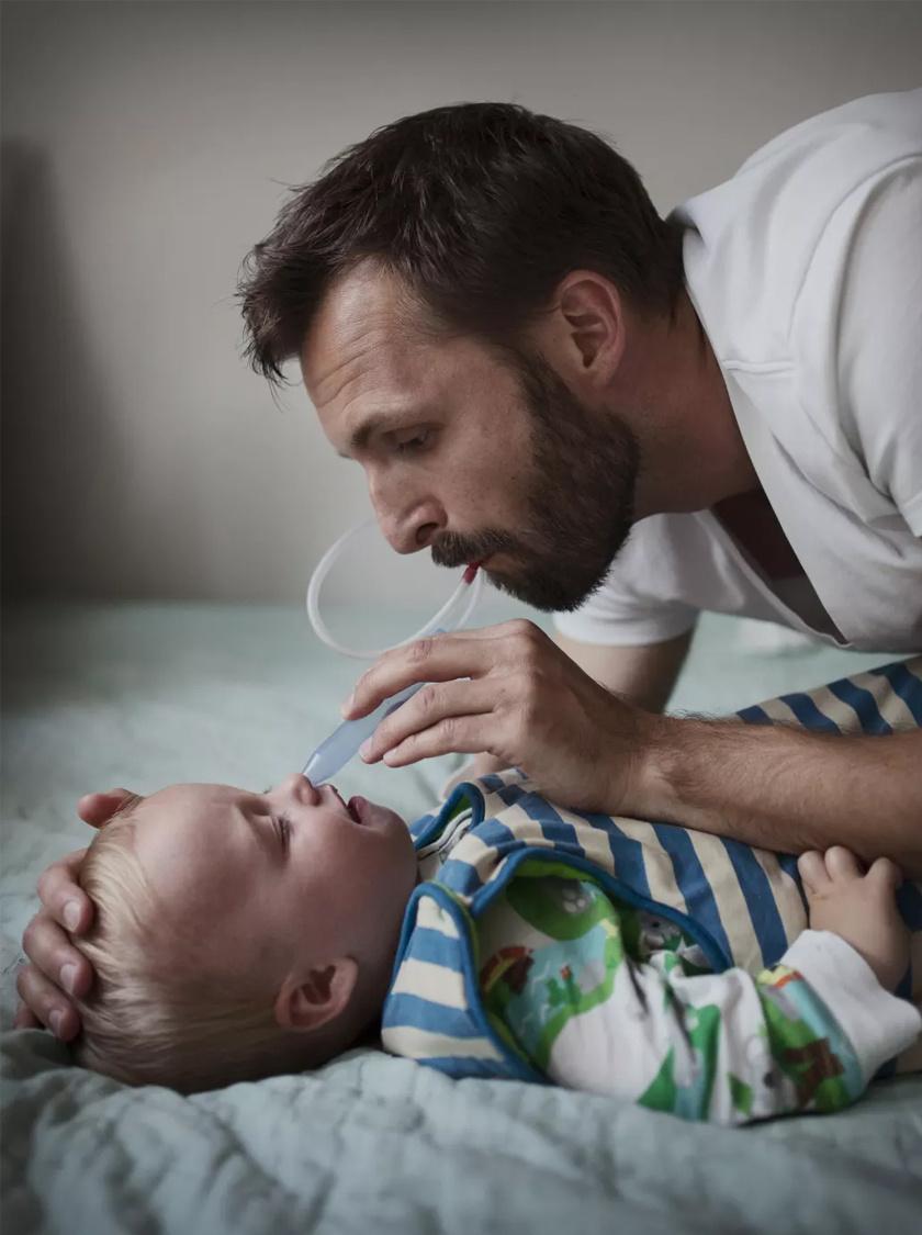 Tjeerd van Waijenburg egy év, négy hónapig marad otthon gyermekével.