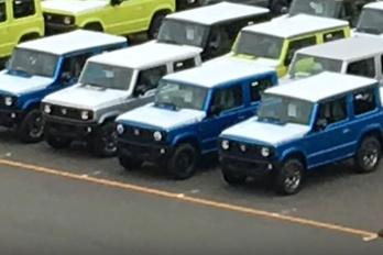 Már gyártják is az új Suzuki-terepjárót?