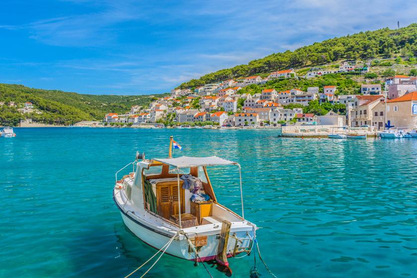 8 kicsi, tengerparti horvát falucska, ahol kristálytiszta a víz: itt nem lesz nagy tömeg