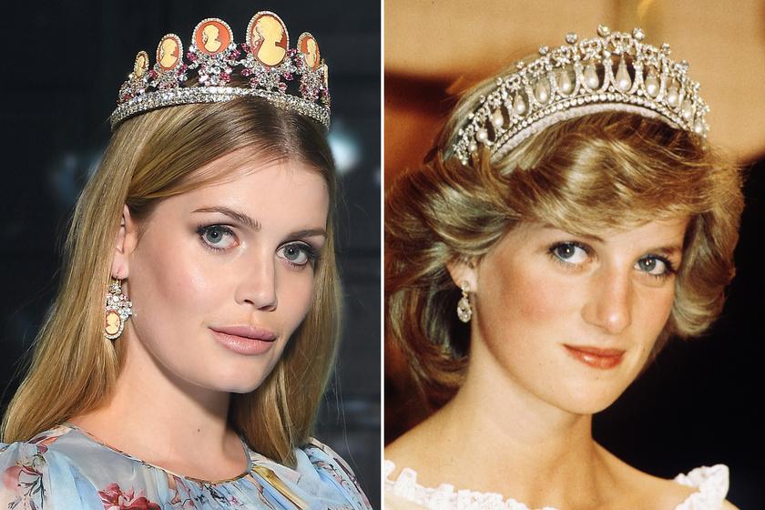 Diana hercegnő 27 éves unokahúga igazi szépség - Gyönyörű fotók készültek Kitty Spencerről