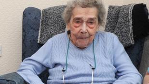 Egy 106 éves asszony szerint a hosszú élete titka, hogy soha nem pasizott