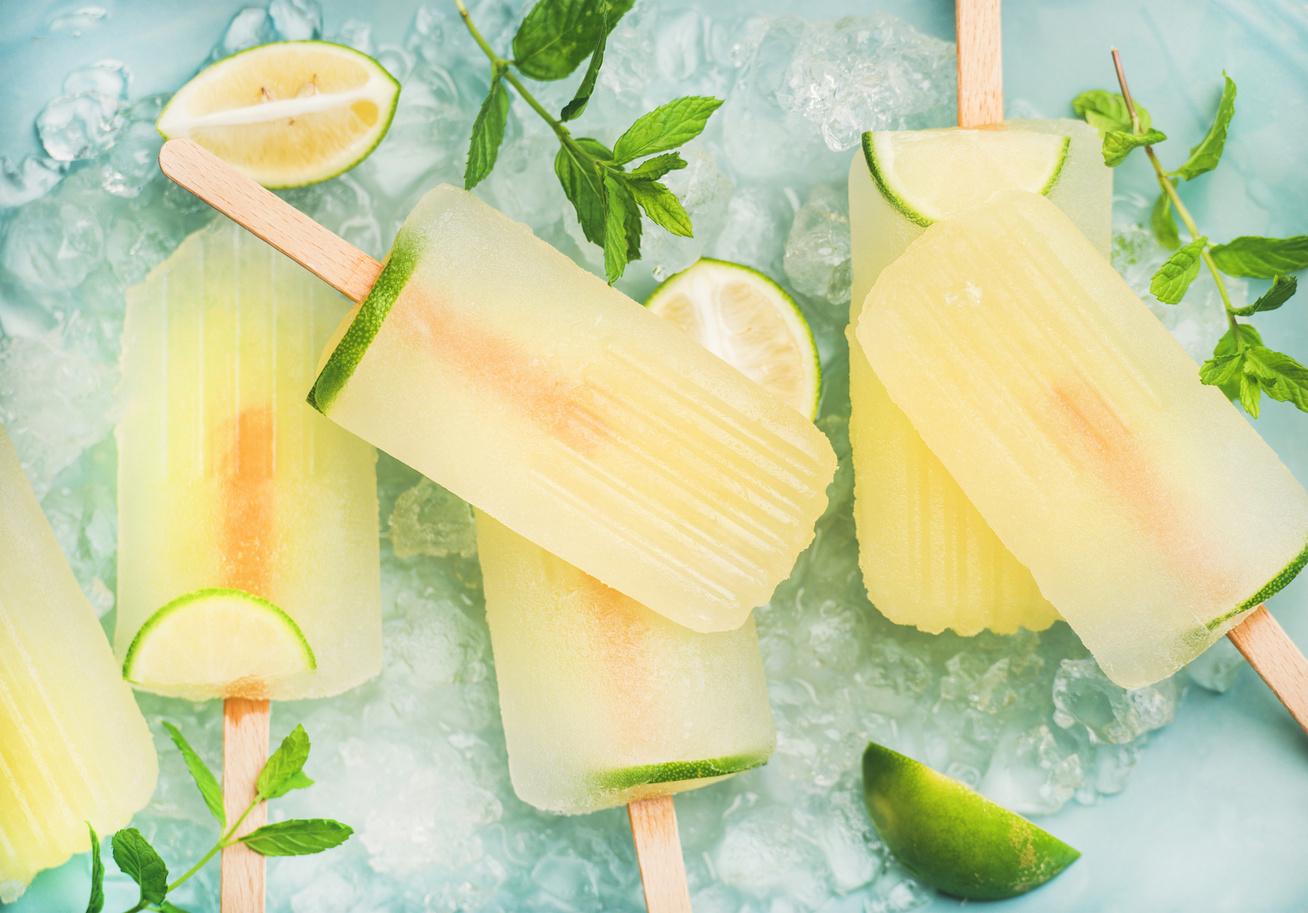 Pálcikás limonádéjégkrém házilag - Egészséges nyári frissítő