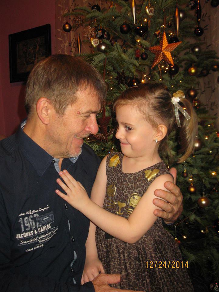 Nagy Bandó András és Gvendolin 2014 karácsonyán.