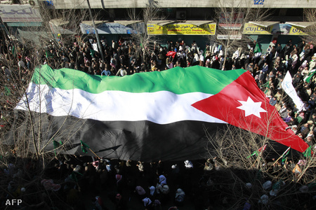 Tüntetés Ammanban