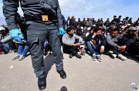 Miután Lampedusa már teljesen megtelt, az újabb csónakokat már egy másik olasz szigethez, Linosához irányították, a menekülteket a parti őrség hajói szállították a partra.