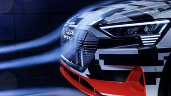 Meglepően hatékony az Audi e-Tron formája